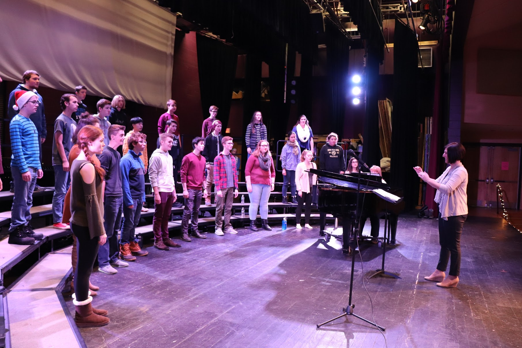 Sing in one of four choirs at TA