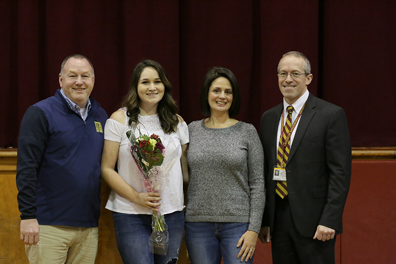 Kaitlyn Genest is February Student of the Month